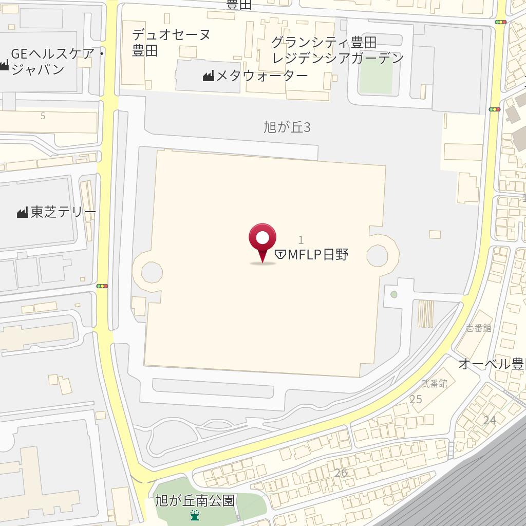 1 1 市 旭が丘 3 東京 都 日野